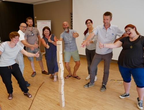 Teambuilding beim Verein für Betreutes Wohnen